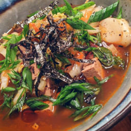 tofu vegan plantbased bowlfood soup