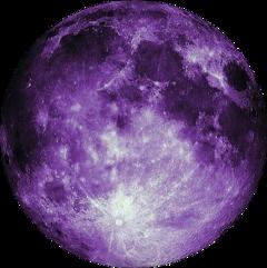 moon astrology planet purple kawaii