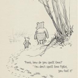 freetoedit pooh piglet aww love