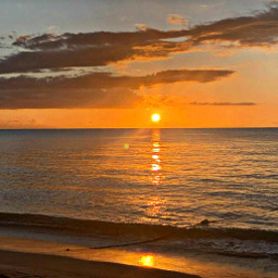 freetoedit sunset beach naturephotography hometown