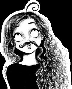 cassandracalin art mustache funny stickerart freetoedit scmustache