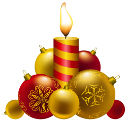 christmas ornaments candle freetoedit