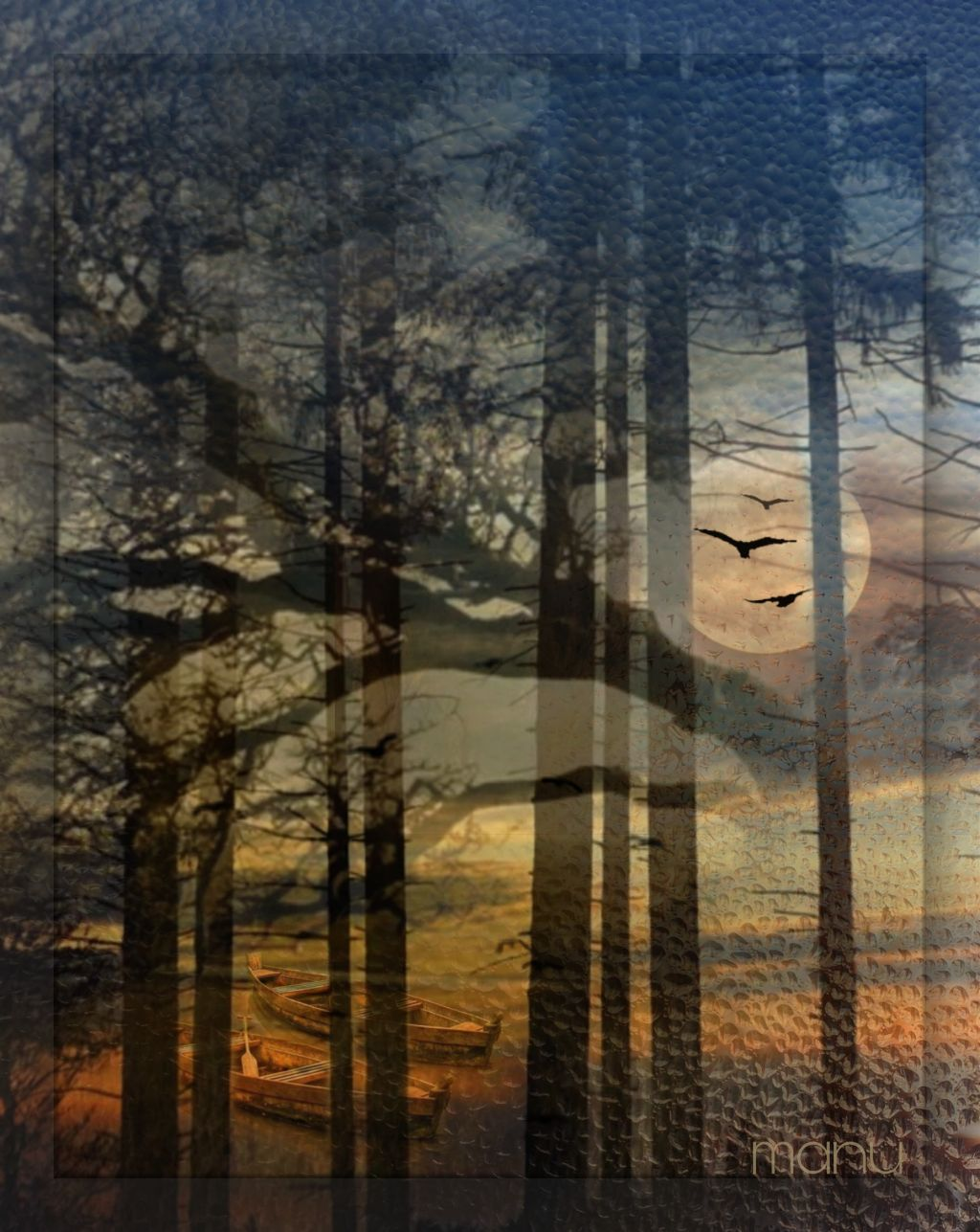 #freetoedit #myedit #landscape #fantasy  #doubleexposure #