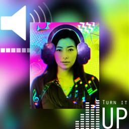freetoedit music headphones neon musicnotes srcheadphone