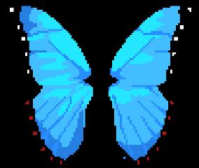 8bit pixel butterfly harajuku chill freetoedit