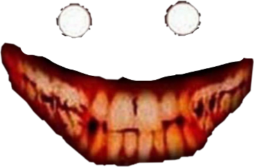 scary creepy smile freetoedit