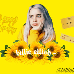 freetoedit billieilish yellow fallaparttwiceaday myboy