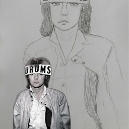 freetoedit rogertaylor drums drummer drawing