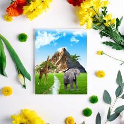 freetoedit giraffe elefant palme berg ircflatlay flatlay