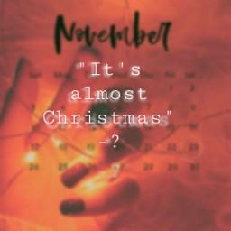 freetoedit alliwantforchristmasisyou autumn november aesthetic day