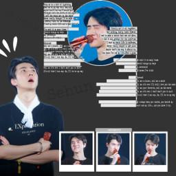 freetoedit kpop korean exo exosehun