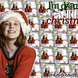 milliebobbybrown millie bobby brown christmas freetoedit