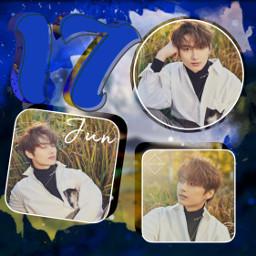 jun seventeen kpop collage bobross freetoedit