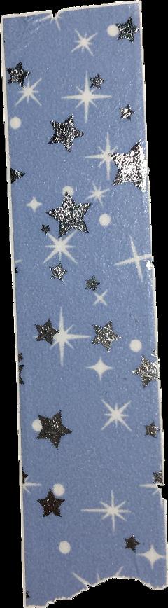 blue stars washi tape washitape scrapbook freetoedit