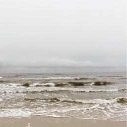 beachmood autumnweather moody roughsea beachvibes freetoedit