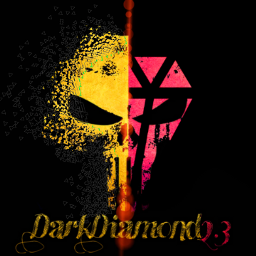 logo skull diamond shapmask dark freetoedit