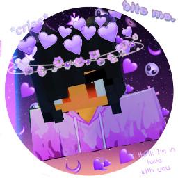 aphmau interesting aphmauedit purple purpleaesthetic freetoedit