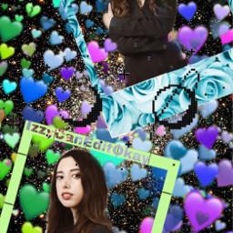 freetoedit stars girl edit emojibackground