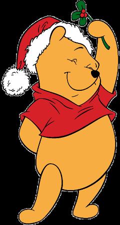disney winniethepooh christmas freetoedit