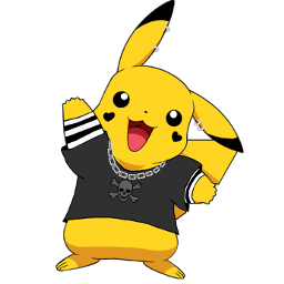 pikachu pokemon eboy meme chain freetoedit