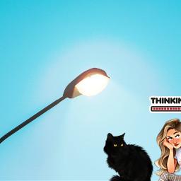 freetoedit think blackcat irclamplight lamplight