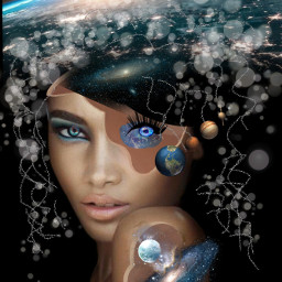 freetoedit brain universe neuronas planetas
