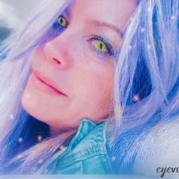 replay selflove purple haircolor