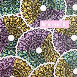 stickers mandala sell adhesive drawing