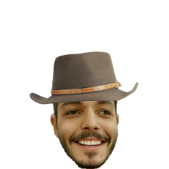 hat odd man mouth strange freetoedit