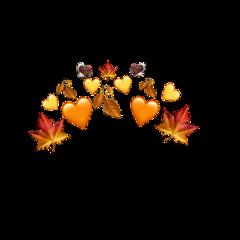fall thanksgiving flowercrown leafcrown turkey freetoedit