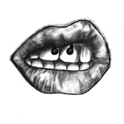freetoedit poland interesting lips woteme dcoutlineart outlineart