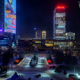 nursultan astana cityscape nightshot mobilephotography freetoedit