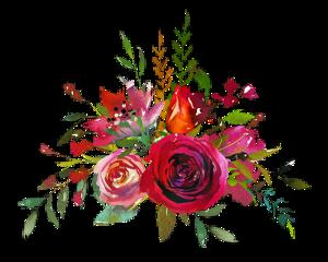 ftestickers stickers watercolor flowers freetoedit