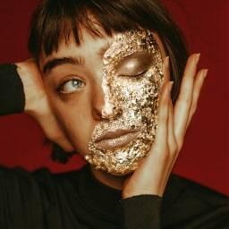 freetoedit girlface hair foil makeup