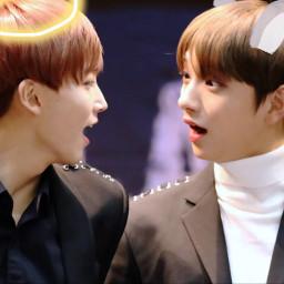 seventeen jeonghan joshua angel rabbit