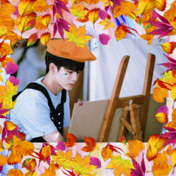 freetoedit ongseongwoo kpop srcfrenchberet frenchberet