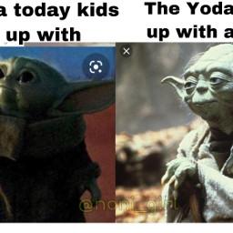 nonicreations memes babyyoda yoda starwars