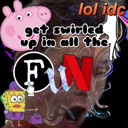 swirled memes f u n freetoedit