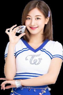jihyo twice gogofightin cheerleader freetoedit