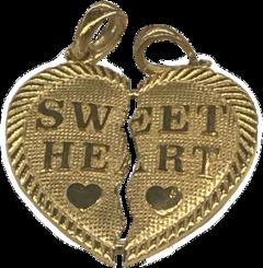 gold goldaesthetic necklace aesthetic vintage freetoedit