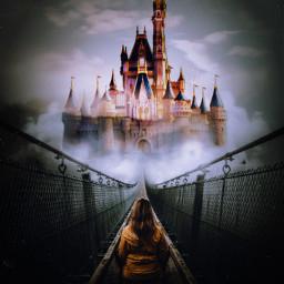 disney disneyland disneycastle castle film freetoedit ircfoggybridge foggybridge