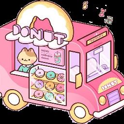 donut freetoedit scvan van