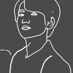 freetoedit baekhyun exo dibujo dcoutlineart outlineart