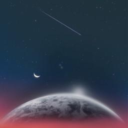 freetoedit moon galaxy