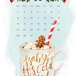 freetoedit calendar cup cocoa hotcocoa srcdecembercalendar decembercalendar