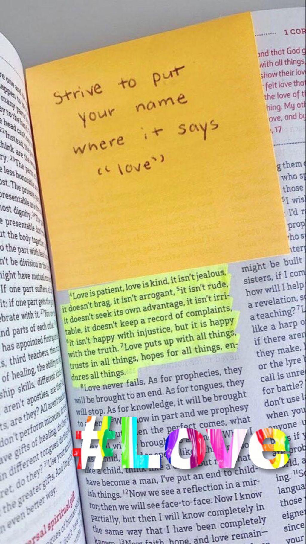 #freetoedit #love #text #bibleverse #postit #bible #remixit