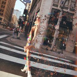 freetoedit woman dispersion glitcheffect picsarteffects
