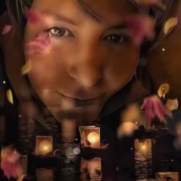 freetoedit myedit candles creativity portrait