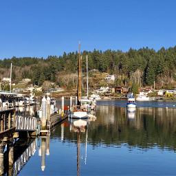 freetoedit harbor blue marina boats