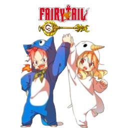 freetoedit fairytail nalu weeb